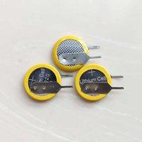 3V CR1220-Taste-Zellen-Batterie mit Pins-Registerkarten für PCB