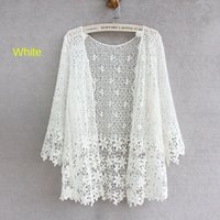 Japanese Style Mori Girl Lace Cardigan Women 2020 Fashion Floral Hollow-out Crochet Lace Tops Women Summer Cardigan Renda