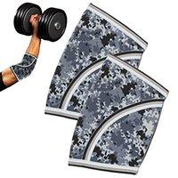 Ellbogen-Knie-Pads 7mm-Ärmel (Paar) Hochleistungs-Handgelenk-Wraps-Support-Powerlifting, Tennis-Neopren-Brace für beide Frauen