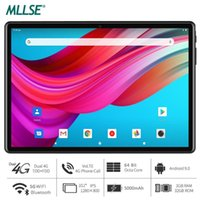 Tablet PC Global versione 8 Core 10 pollici Android 9.0 OS 4GB RAM 64GB ROM 1280x800 IPS 5.0MP Telecamera 3G 4G PAD telefono LTE