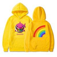 6ix9ine Gooba arco iris 3D Impreso con capucha Sudaderas rapero de moda Hip Hop informal suéter Hombres Mujeres Harajuku Streetwear con capucha
