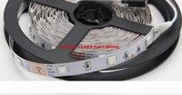 Marca nuevos 5M 150LEDs 5050 RGB llevó luces de tiras 12V 30LEDs m impermeable llevada flexible de la cuerda luces de tiras para Navidad barra de iluminación