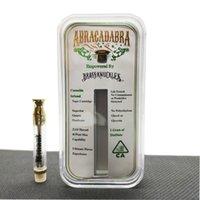 Brass Knuckles cartouche de Connected Abracadabra coton stylo en céramique Coil Vape vape Chariots E-Cigarettes atomozers en acrylique Boîte DHL gratuit