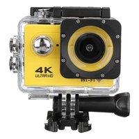 كاميرا 4K عمل الكاميرا واي فاي الرياضة الترا HD 30M 170 درجة زاوية واسعة للماء DV كاميرا الفيديو مع EIS الجيروسكوب المزدوج مكافحة اهتز