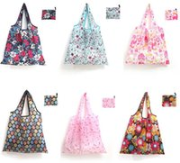 In Stock, Foldable Shopping Bags Polyester Home Storage Bag R...
