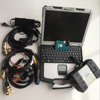 mb star c3 multiplexer five cables with software hdd 120gb with laptop cf30 battery diagnosis ready to use