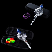 Love_e_cig NC031 Sharp Quartz Nail Glass Dabber Pipe 45 90 D...