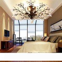 الثريا الصمام الكريستال خمر الأمريكية الثريات الإضاءة أضواء السقف لغرفة الجلوس غرفة الشرفة مطعم بار