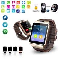 DZ09 스마트 시계 시계 디지털 남성 시계 블루투스 지원 TF SIM 카메라 남성 여성 스포츠 블루투스 손목 시계 SmartWatch