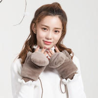 2020 New Lovely Women Winter Mittens Japanese Style Cute Col...