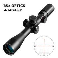 BSA OPTICS TMD 4-14X44 FFP 사냥 Riflescope 광학 범위 유리 밀 점 십자선 사냥 범위 스나이퍼 범위 전술 소총