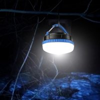 Bright LED Portable Tent Camping Lantern Emergency Light Lamp 3 Modes With Protable Hanging Magnetic For Outdoor Sport
