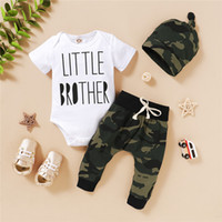 Kids Clothes Camouflage Newborn Baby Boys Clothes Romper Bod...