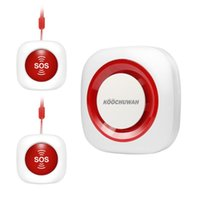 알람 시스템 GSM SOS 패닉 버튼 키트 자동 통화 노인 / 유효하지 않은 / 노인을위한 SMS 비상 사태