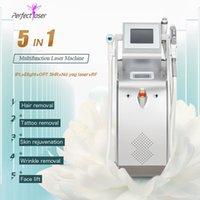 OPT-Schönheits-Maschine Laser-Fleckenentfernung-Feder-Tätowierung SHR IPL-Maschine RF Ausrüstung Hautverjüngung vaskuläre Behandlungen am besten