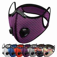 24 Stiller Bisiklet Toz geçirmez Yeniden kullanılabilir Nefes Güneş Koruyucu Fitness'i Maskesi Maske Doğa Sporları Binicilik Bisiklet Maskeleri CYZ2630 Malzemeleri