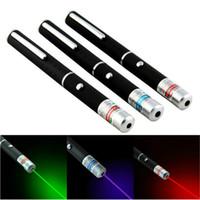 Caneta laser verde 5 MW 650nm Strong Luz Visível feixe Laser Pointer 3 cores Powerful Militar Laster Pointer Pen