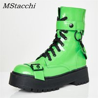 MStacchi Women Fashion Ankle Boots For Women Night Club Plat...