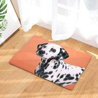 Kissen / dekorative Kissen 2021 Hundedruck Teppiche Rutschfeste Küchenppiche für Wohnzimmer Wohnzimmer Bodenmatten 40x60cm