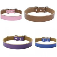 Suministros para mascotas Collares de perro Cadena de Moda Cats Suministros Suministros Accesorios Correa Hojas de hierro Acero inoxidable Safe Soft Safe 14 5BR F2