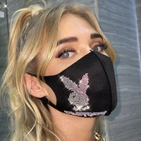 hot Fashion Blingbling Flash diamond jewelry Mask Party Acce...