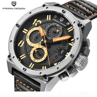 PAGANI Design Sport Montre Homme Top Outdoor Quartz Chronographe Army Watch Homme Horloge Relogio Masculino Saat