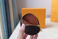 الجولة عملة مصمم أزياء مال المرأة رشيق البسيطة منظم محفظة حقيبة عالية الجودة حامل سحر بطاقة مفتاح