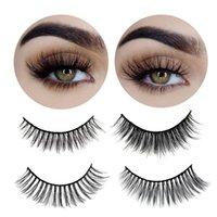 3Pairs 3D Mink Lashes False Eyelashes Natural Thick Fake Lashes Long Eye Extension Handmade Soft Eyelash Makeup Tools