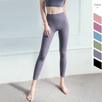 Classica 3.0 Versione soft-feel Nudo Workout Gym Yoga Collant Donne Squatproof vita alta Fitness Sport Leggings S-XXL