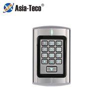 Контроль доступа отпечатков пальцев ZKRT380 металлический водонепроницаемый RFID Machine 1000 пользователей Card Reader дверная система Wiegand