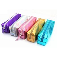 1Pc Sell Laser Flare Pencil Case Super Shiny PU Laser Pencil...