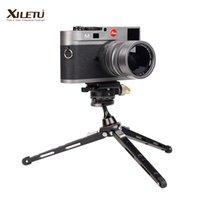 Treppiedi XILETO XBC20 + XT18 Bracket da tavolo alto cuscinetto da tavolo Mini treppiede da tavolo e testa a sfera per telecamera DSLR Smartphone con specchio