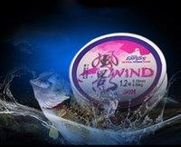 50m Kırmızı Ana Hat Hat Rüzgar Gölge 50 Metre Naylon equipo de pesca Rekabetçi El Balıkçılık Ana Hat Dişli olta takımı
