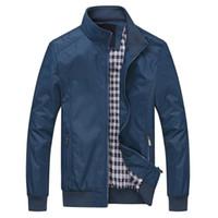 Herbstjacke Männer Mantel Casual Bomber Jacken Herren Outdoor Windjacke Mantel JAQUETA Masculina Veste Homme Markenkleidung plus 6XL