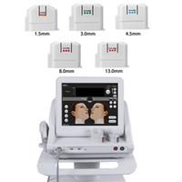 2020 المحمولة HIFU الموجات فوق الصوتية آلة الوجه مكافحة الشيخوخة المضادة للتجاعيد تشديد الجلد آلة hifu خراطيش صالون معدات الجمال
