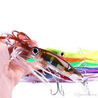 Nuovo Arrivo Manica-Pesce Pesca Attrezzatura da pesca 14 cm 40G Polpo Squid Lure Hard Plastic Fishing Lure Lure Trolling Bionic Bionic Minnow Bait