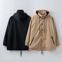 giacca a vento Mens Outerwear stampa giacca Lettera mens impermeabile Giacche coppie cappotto di modo Windbreaker per l'uomo