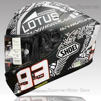 La cara llena Shoei X14 DIGI hormiga casco de la motocicleta anti-vaho visera del casco de moto de carreras-NO-ORIGINAL-casco hombre que montan el coche de motocross