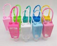 Silicone Hand Sanitizer tampa protetora 30ml Viagens portátil recarregável Sanitizer Bottle Cobre Sanitizer portador Housekeeping OOA8330