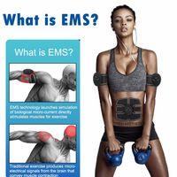 EMS الكهربائية العضلات تحفيز أبس عضلات البطن الحبر لياقة الجسم تشكيل تدليك تصحيح Siliming المدرب التمارين للجنسين