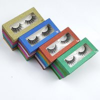 Wholesale Eyelashes 10 Style 3D Mink Lashes Natural False Ey...