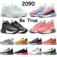 2090 OG Mens Running Shoes Rosa Lotus Pink Ice Blu Lava Glow Università Red Bred essere vero Aurora Verde Nero Bianco Donne Sneakers