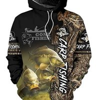 Bass fishing 3D Printed Mens Hoodie Harajuku Streetwear autumn hoodies Sweatshirt Unisex Casual Jacket Tracksuits 200923