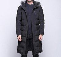 M - 3XL Hot Winter 2020 Мужчины Новая мода Отдых Развивайте One 'Мораль Long Теплый Утолщение Extended вниз JACKE