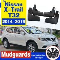 Freie Verschiffen-Qualitäts ABS Kunststoff Autokotflügel Kotflügel Schmutzfängern für Nissan X-Trail Rouge T32 2014-2019