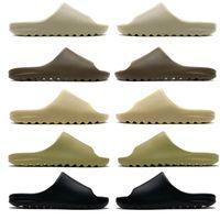 2020 Slides Graffiti Bone Resina Deserto Deserto Sabbia Pantofole di gomma Estate Brown Flat Men Donne Beach Foam Runner Dimensione 36-45