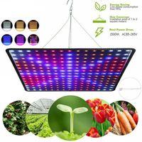 LED تنمو أضواء مصباح نمو النباتات رقيقة جدا 225 حبات 1500W النباتات ملء مصابيح الخضروات مقاومة للاهتراء