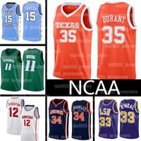 NCAA 7 Kevin 35 Durant 13 Harden Jerseys Texas Longhorns College Kyrie Vince 15 Carter John 11 Irving Stockton Basketball