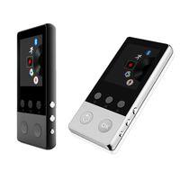 Bluetooth Metal MP3 Çalar Dahili 8G HiFi Kayıpsız Müzik Yüksek Kalite Ile Taşınabilir MP3 Kayıpsız Ses Müzik Çalar FM Kaydedici MP3 Çalar