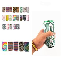 Schlank Dosenhalter Neopren-Schalensatz Isolator Sleeve Wasserflasche Abdeckungen Tasse holderCase Pouch Bar Produkte können Sleeve T2I51300